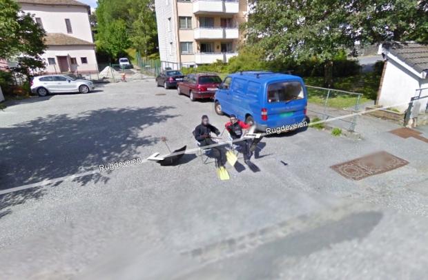Norvegia, tutti in posa per Street View